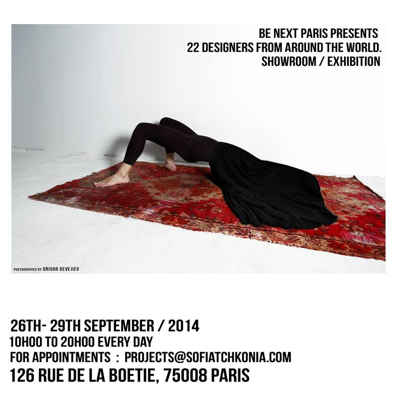 BE NEXT PARIS 26TH-29TH SEPTEMBER / 2014